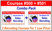 Sales Recruiting Training Combo Pack 205