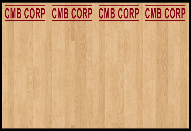 CMBCorporate Wall Mural Full Color and Contour Cut