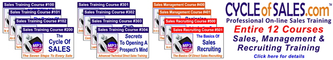 Cycle Of Sales Combo Pack