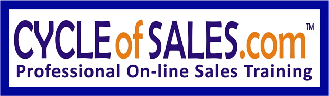 Cycle of Sales Bumper Sticker