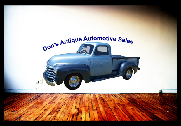 Dons Antique Cars Wall Mural