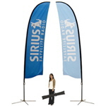 Feather Banner Stand