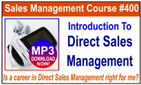 Introduction To Direct Sales Management