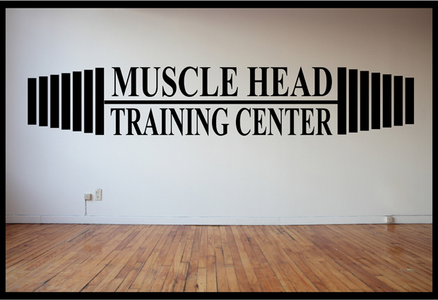 Muscle Head Corporate Wall Vinyl