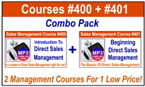 Sales Management Training Combo Pack