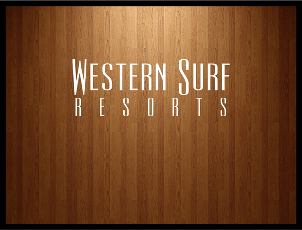 Western Surf Resorts Corporate Wall Mural