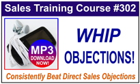 Whip Sales Objections